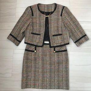 Trina Turk Tweed Suit